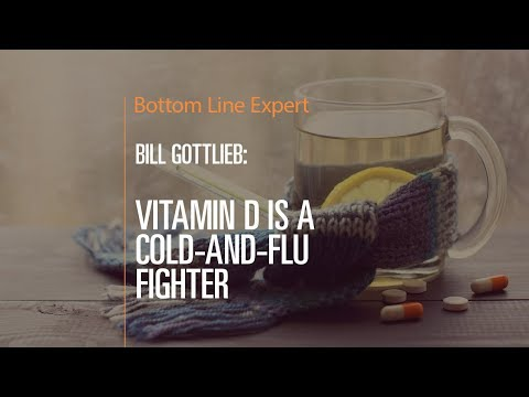 Vitamin D is a Cold and Flu Fighter