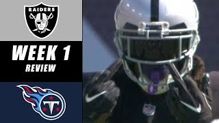 Oakland Raiders vs Tennessee Titans Recap