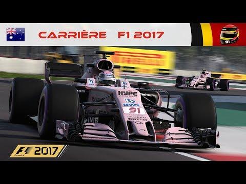 F1 2017 - Carrière #01 : La Vie en Rose ! [RoleplayTV]