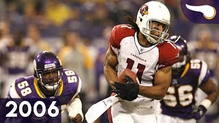 Boldin & Fitz Run the Show - Cardinals vs. Vikings (Week 12, 2006) Classic Highlights