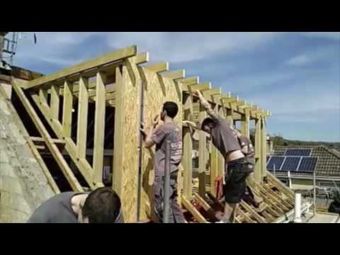 Loft Conversion in Bristol Limelapse
