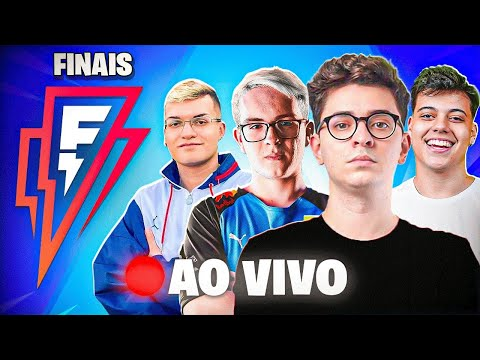 FINAL AO VIVO! FLAKES POWER CUP DE FORTNITE!