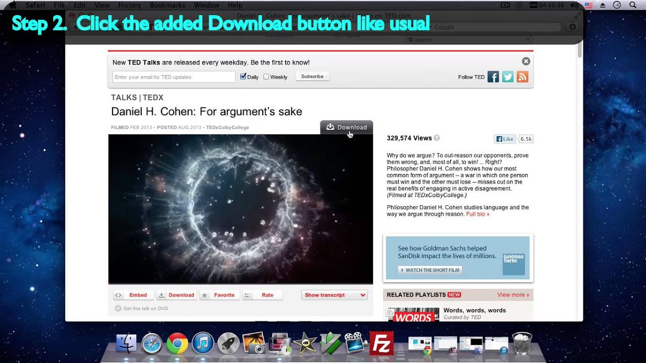 how to download videos on mac