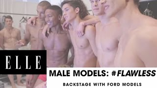 Male Models Reveal Their (Non) Beauty Secrets | ELLE