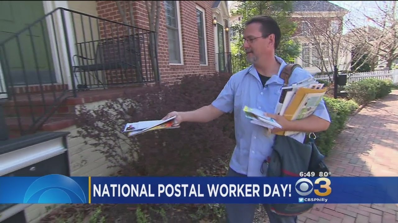 National Postal Worker Day Celebrates 490000 Workers In The Us