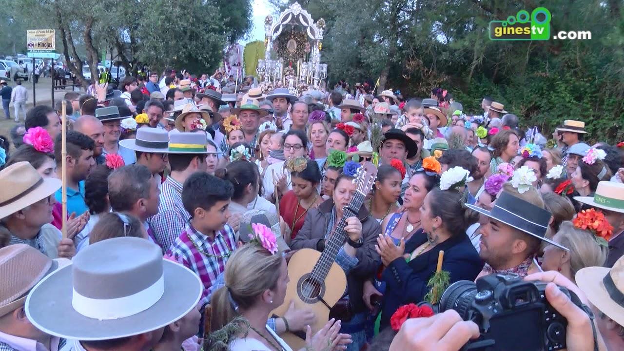Resumen paso Ajolí y llegada al Rocío con Gines 2018.