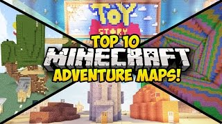 TOP 10 MINECRAFT ADVENTURE MAPS FOR 1.8! (Minecraft Top 10) (Minecraft Adventure Map) - 2014