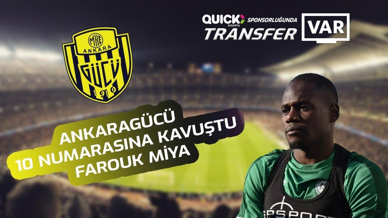 Ankaragücü 10 numarasına kavuştu ! Tüm detayları ile #TransferVAR'da...
