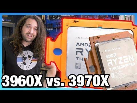 AMD Threadripper 3960X Review vs. 3970X, 3950X, 10980XE, & More
