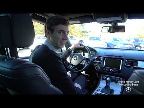 2014 Volkswagen Touareg 3.6L R-Line video tour with Spencer