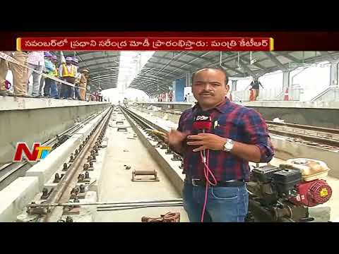 TS Govt Speed Up Metro Rail Works || Special Ground Report from Secunderabad Metro Station