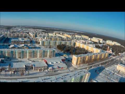 Покачи, зима 2017, ХМАО-ЮГРА