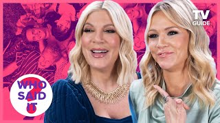 BH90210's Jennie Garth and Tori Spelling Play Who Said It: Beverly Hills, 90210 Edition