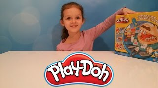 Плей До мистер Зубастик играем в стоматолога видео для детей Dr. Drill 'n Fill unboxing Play-Doh set(Распаковка набора Мистер Зубастик на приёме у стоматолога, пластилин Плей до тесто для лепки с игрушкой..., 2016-04-04T13:51:26.000Z)