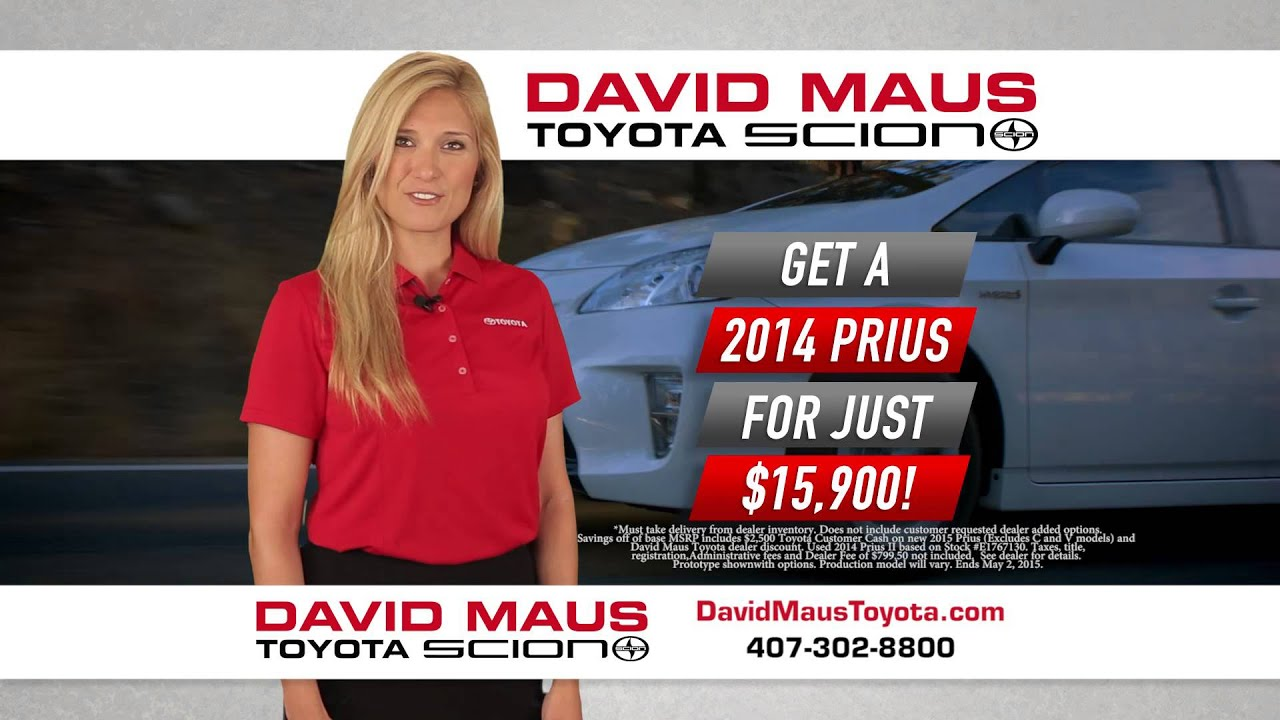 High Quality Enjoy Huge Savings On A New Prius At David Maus Toyota!