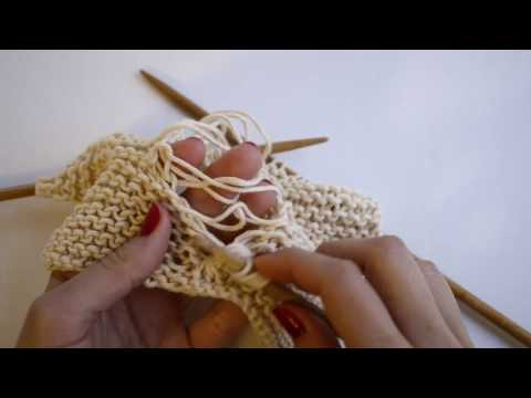 How to make a drop stitch cable | We Are Knitters