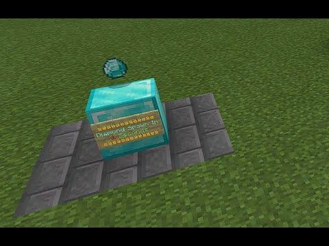 Minecraft Bedrock Item Generator With Just 2 Command Blocks
