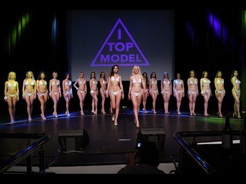 Выход в бикини - финал конкурса красоты I-TOPMODEL 2019