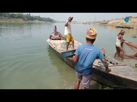 Gan Fishing Style | Aair Kata Fish Catching by Real Fisher Men