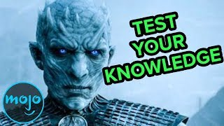 Repeat youtube video Top 10 Game of Thrones Trivia