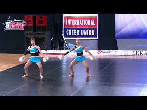 13 SENIOR DOUBLE FREESTYLE POM Tzanidou   Tsouvalou HCU   AMAZONS GREECE