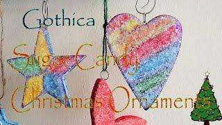DIY Christmas Ornament Decor  Sugar Candy Vintage Nostalgic Decor  #Gothica