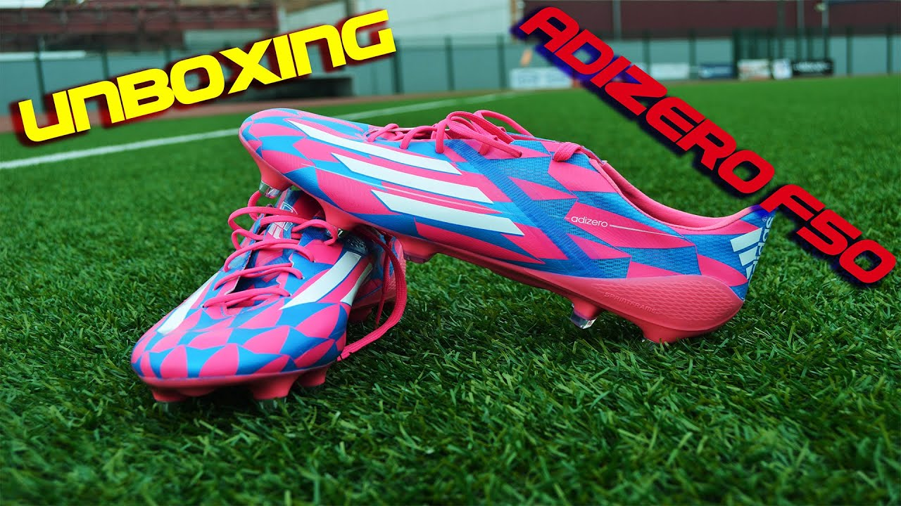 green and pink adidas f50 adizero