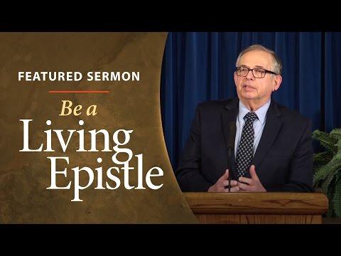 Be a Living Epistle