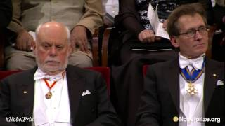 Nobel Prize Award Ceremony 2016