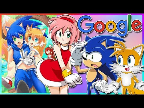 Sonic And Tails Google Sonic Humans