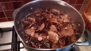 Грибы горькушки солим дома - простой рецепт