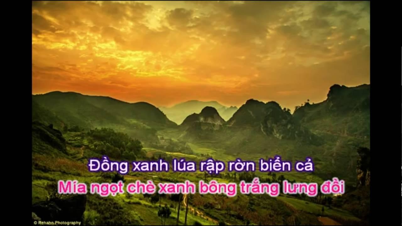 Viêt Nam quê hương tôi -  Karaoke Beat C5