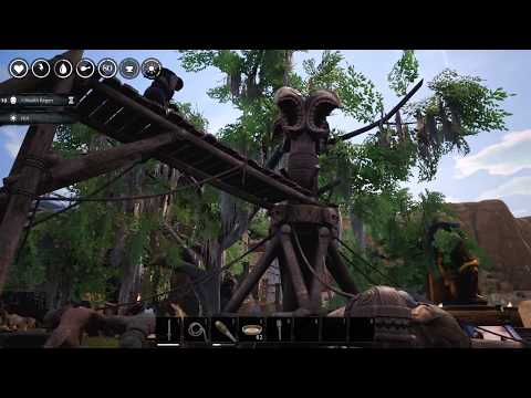 Conan Exiles Age of Calamitous and Populus MOD Base Tour