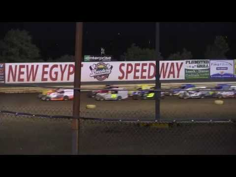 New Egypt Speedway Modified Feature July 8, 2017 Pt. 1
