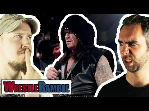 What's Going On With The Undertaker?! WWE Raw 25th Anniversary, Jan. 22, 2018   WrestleRamble