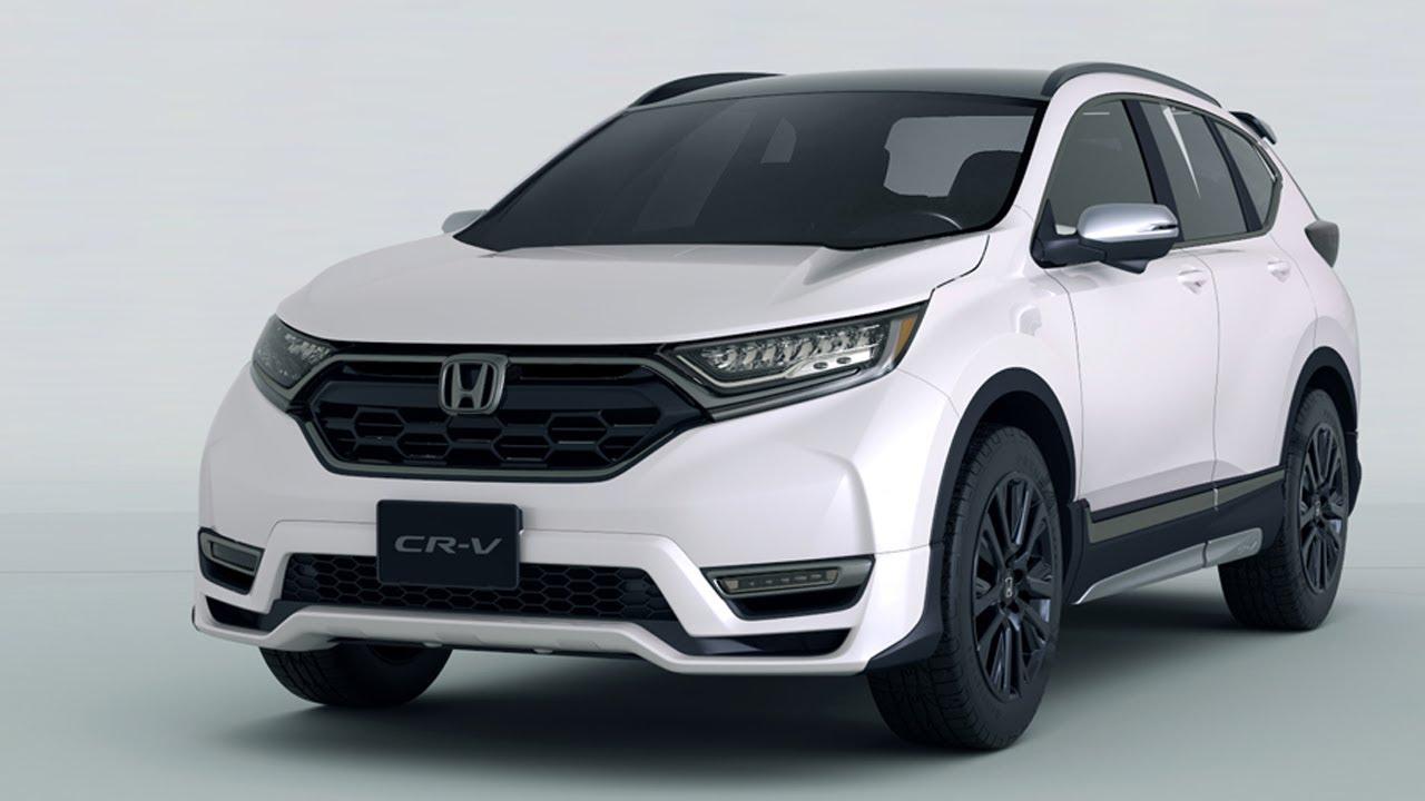 CR V Custom Concept Leads Hondas Lineup For The 2018 Tokyo Salon