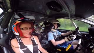 Видео   Будущий чемпион ралли катает свою маму   Видеоролики на Sibnet