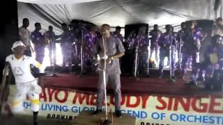 ALAY0 MELODY SINGER video; DAYO ADESINA