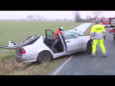 Schwerer Verkehrsunfall in Wesselburen