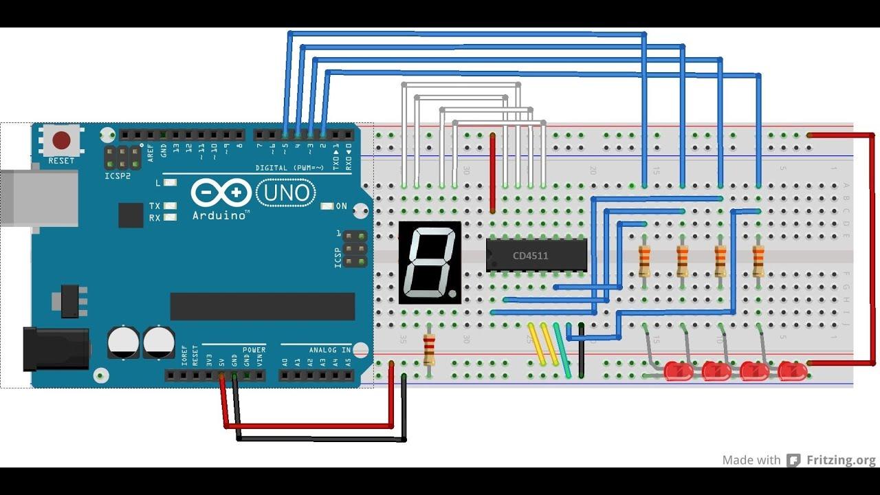Tutorial utilizando decodificador cd com arduino e
