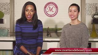 Client Testimonial using Morris Code Beauty® Dry/Dehydrated Skin Care System