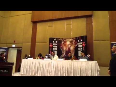 Akshay Kumar, Sonakshi Sinha, Imran Khan promote 'Once Upon A Time...a' in Dubai Video2