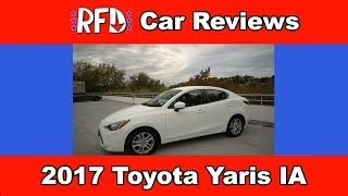 homepage tile video photo for 2017 Toyota Yaris iA - Regular One Take Quirks & Features Review (Tribute)
