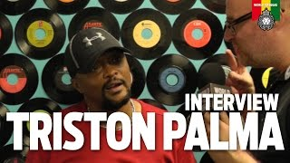 Interview Tristan Palmer at Reggae Central, Dordrecht NL