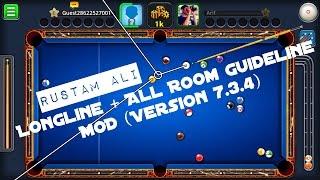 8 Ball Pool 3.7.4 Mod [LONGLINE +  All Room GUIDELINE]