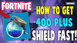How To Get 400 Shield Fast! (NOT BAIT) - Fortnite Battle Royale (Nintendo Switch)