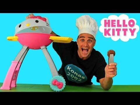 Hello Kitty Grill ! || Toy Reviews || Konas2002