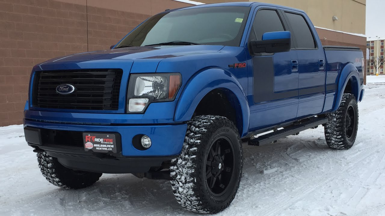 Lifted 2012 ford f 150 fx4 by rtxc canada youtube