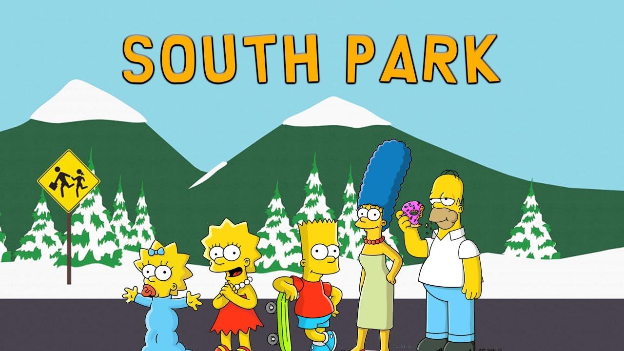 the simpsons vs south park