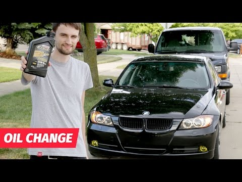 BMW Change Your Own Oil! - 동영상